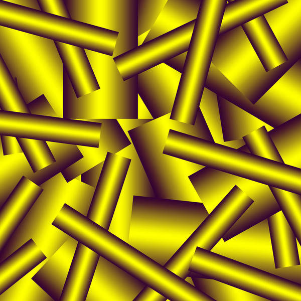 Pipe Art Print featuring the digital art Gold Pattern C  by Raymond Youm