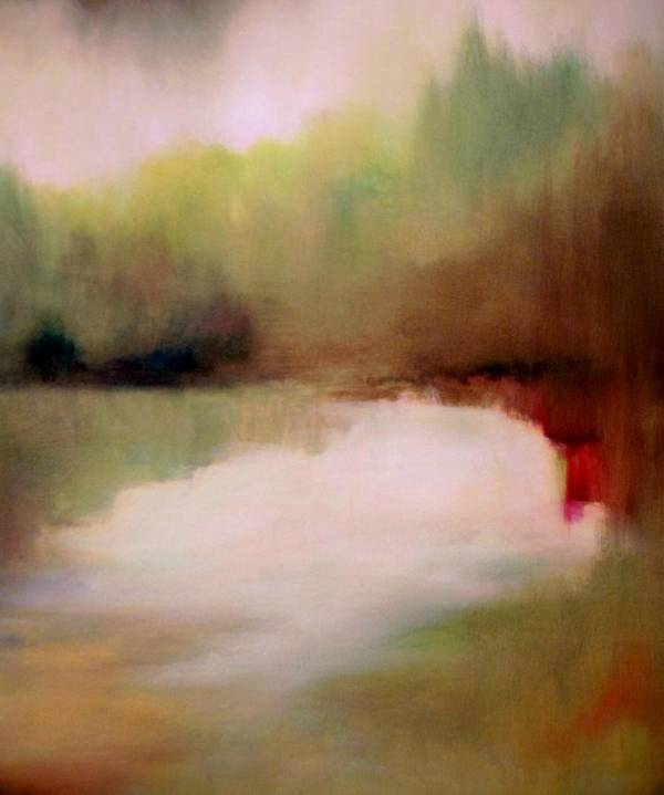 Landscape Art Print featuring the painting Changing Seasons by Renee Shular