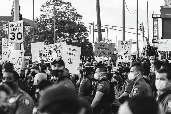 Peaceful Protest Asbury Park, NJ June 1st 2020 by Daniel Curtis