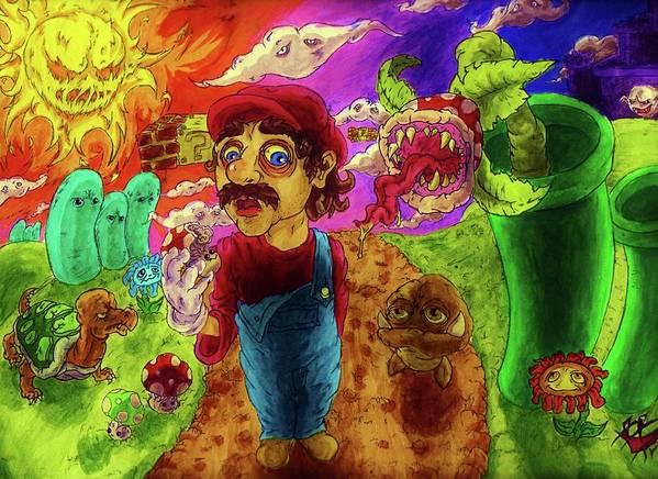 Super Mario Boomers by Trevor Davy