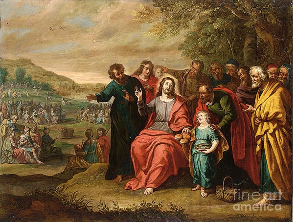 The Feeding Of The Five Thousand by Celestial Images