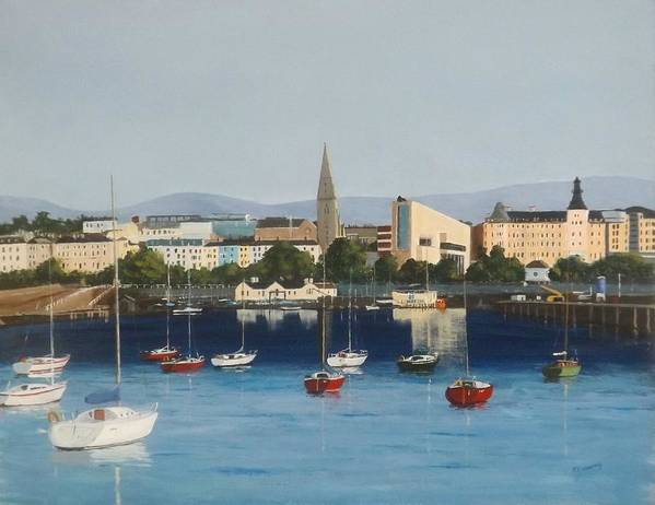 Dun Laoghaire Harbour by Tony Gunning