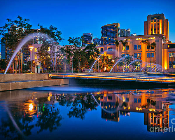 Downtown San Diego Waterfront Park by Sam Antonio Photography