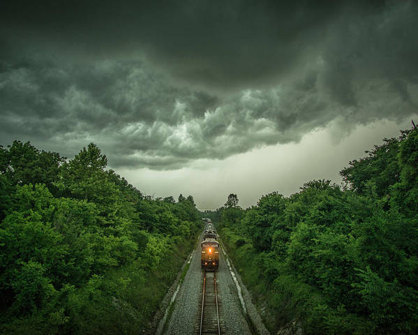 Entering the storm by Jim Pearson
