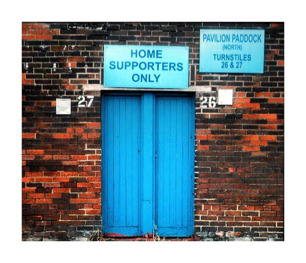 Home Supporters Only Preston by CP Shorrock