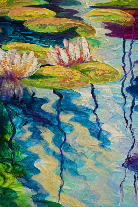 Water Lilies I by Marion Rose