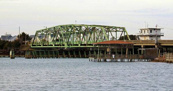 Surf City Swing Bridge by Cynthia Guinn