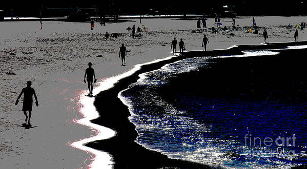 Morning Art Print featuring the photograph Morning Walk by Carlos Alvim