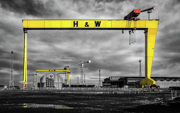 Belfast Shipyard 3 by Nigel R Bell