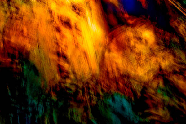 Landscape Art Print featuring the painting Wounded Earth 2 by Tim Thorpe