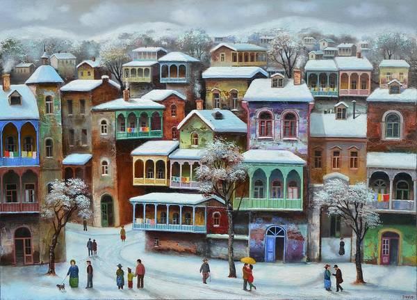 Old Tbilisi by David Martiashvili