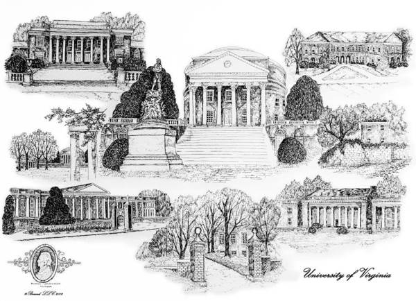 University of Virginia by Jessica Bryant