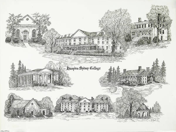 Hampden Sydney College by Jessica Bryant