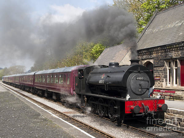68013 Art Print featuring the photograph At The Station by Steev Stamford