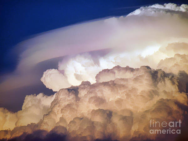 Clouds Art Print featuring the photograph Dark Clouds - 2 by Graham Taylor