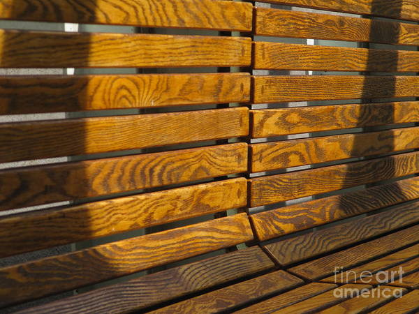 Wood Art Print featuring the photograph Seen A Lot Of Seats by Bruce Borthwick