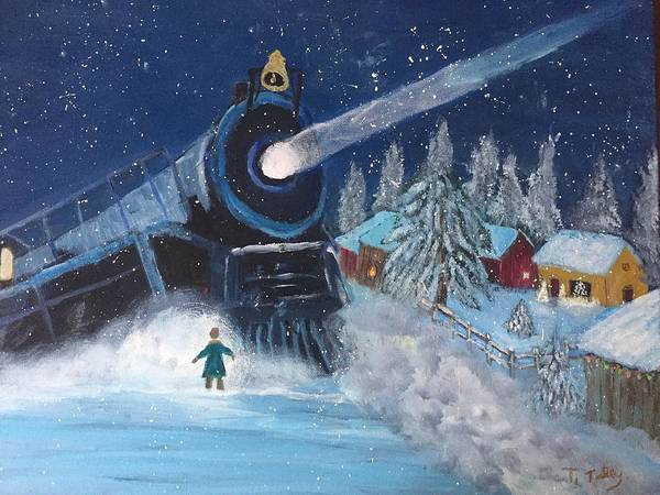 Snow Train by Terry Tuley