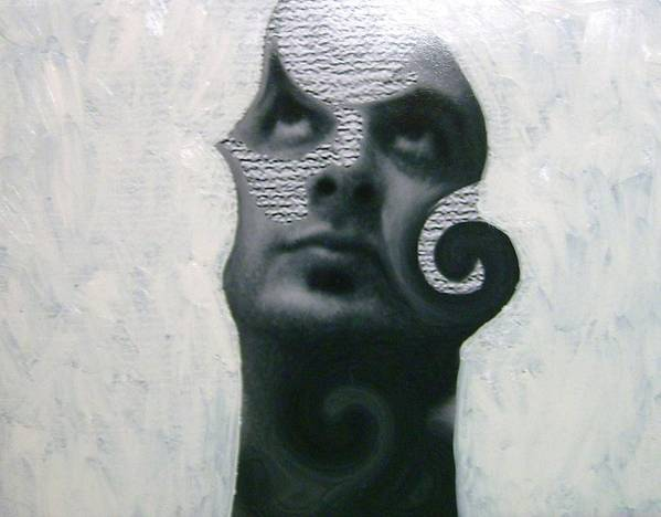Art Print featuring the mixed media Twisted by Miguel Davlantes