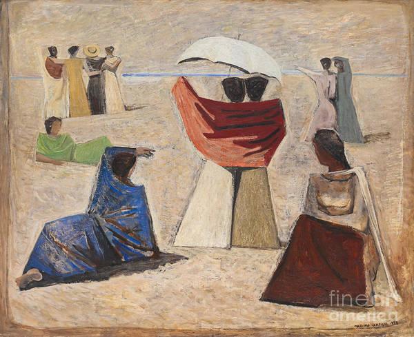 Le spose dei marinai by Massimo Campigli by Roberto Morgenthaler