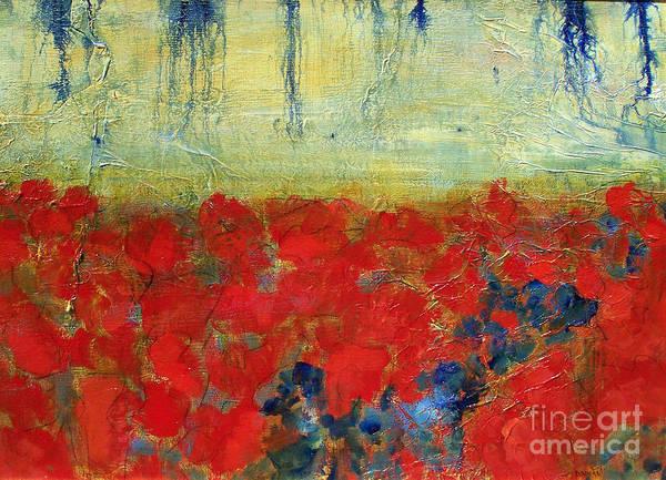 Poppy Field IV by Diane Dean