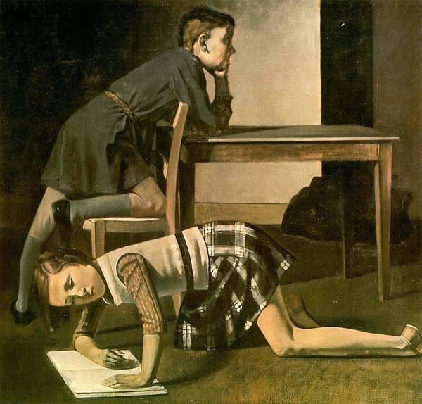 Children by Balthus