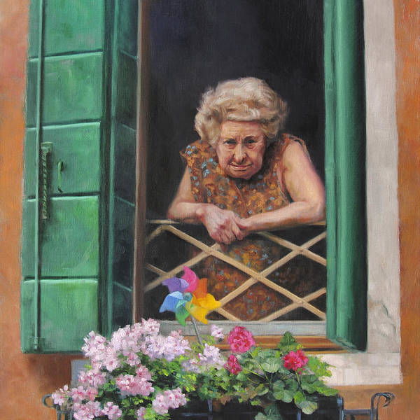 Paint Window Sill Interior: Window Flower Box Paintings