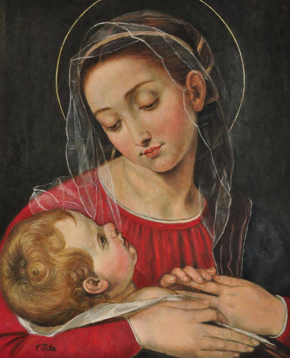Our Lady of Divine Providence by Terry Sita