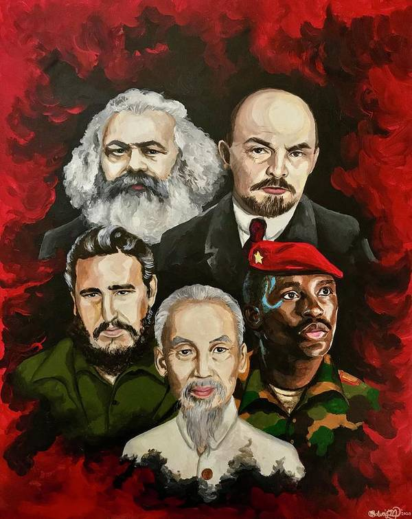 Marxist Leaders by Solveig Inga