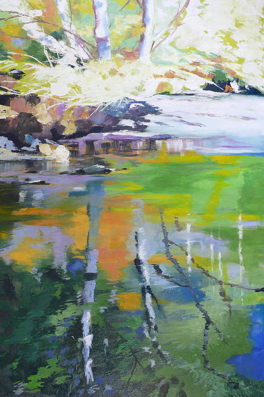 North Fork Silver Creek by Melody Cleary