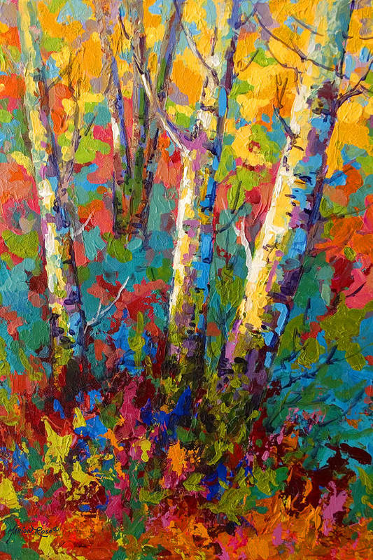 Abstract Autumn II by Marion Rose