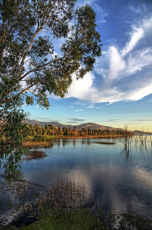 Sunset At Otay Lake by Robert VanDerWal