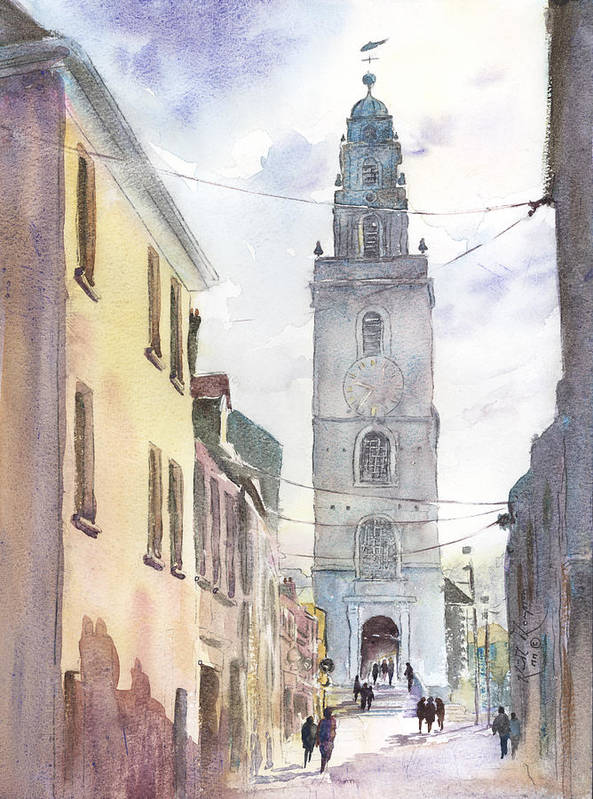 St Annes Church Shandon Cork Couty Cork Ireland by Keith Thompson