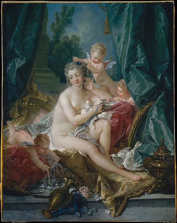 The Toilette of Venus by Franois Boucher