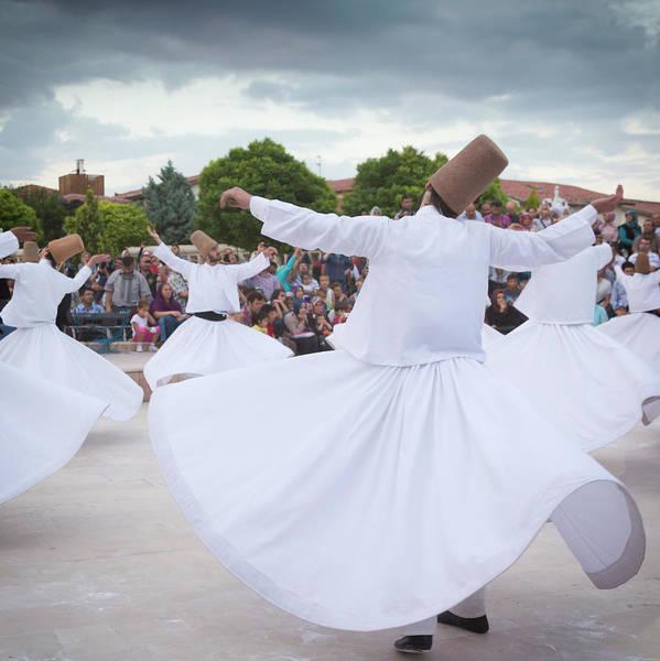 Whirling Dervishes, Konya, Turkey by Ken Welsh