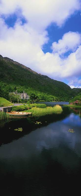 Architectural Heritage Art Print featuring the photograph Kylemore Abbey, Co Galway, Ireland by The Irish Image Collection