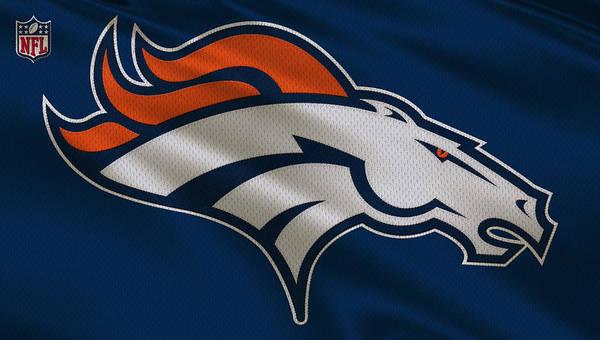 Denver Broncos Uniform by Joe Hamilton
