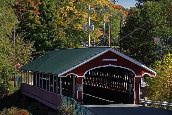 West Swanzey Thompson Covered Bridge by Juergen Roth