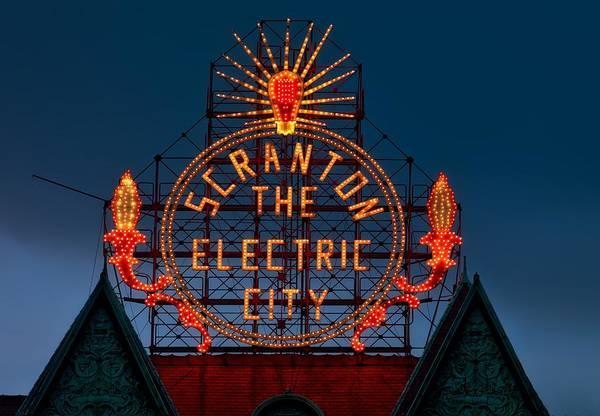 Scranton - The Electric City by Mountain Dreams