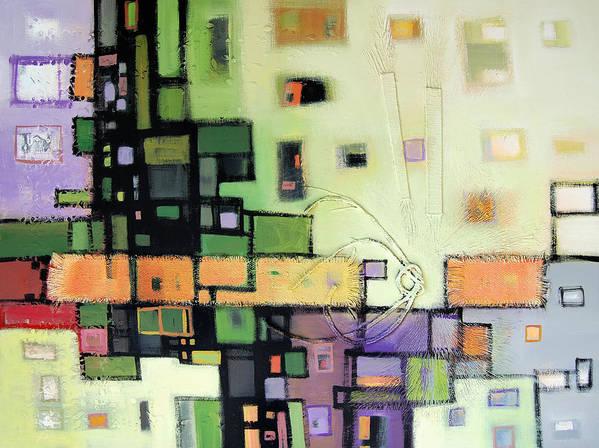 Art Print featuring the painting Balance by Farhan Abouassali