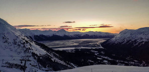 Alyeska Mountain Alaska  by Nicole Badger