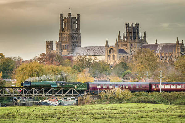 Flying Scotsman at Ely by James Billings