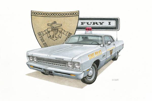 1969 Plymouth Fury I - RISP by Robert VanNieuwenhuyze