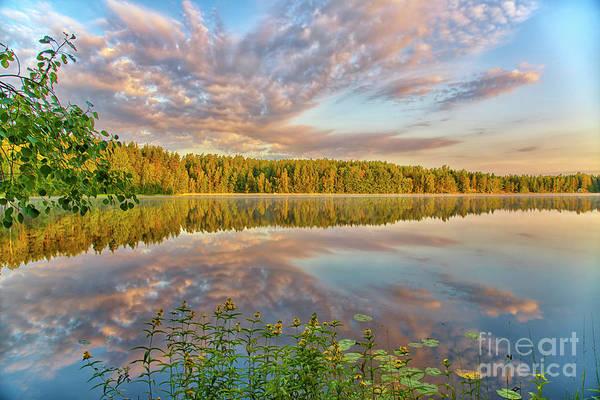 Summer morning at 05.51 by Veikko Suikkanen