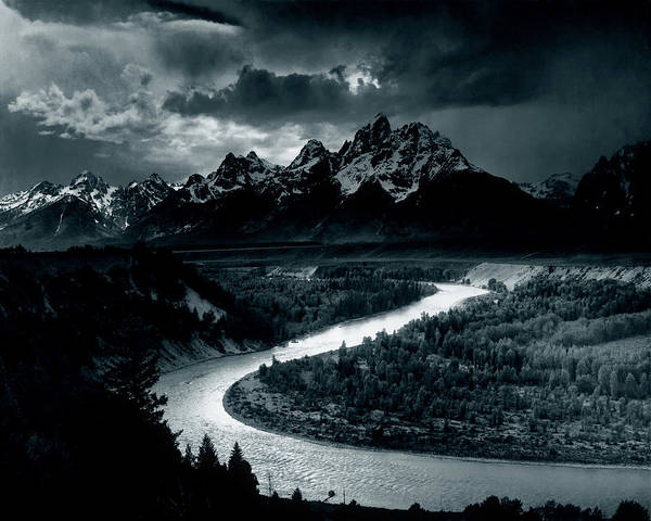 The Tetons And The Snake River 1942 by Mountain Dreams