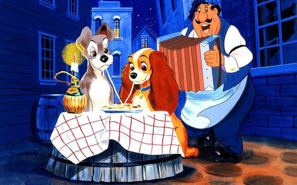 Lady And The Tramp by Lucie Malecot