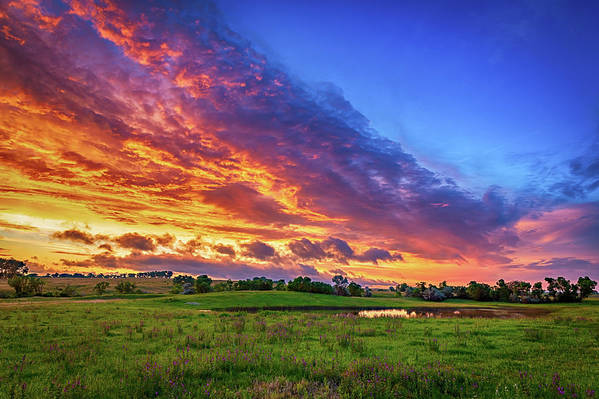 Colorful Sunset by Kendra Perry-Koski