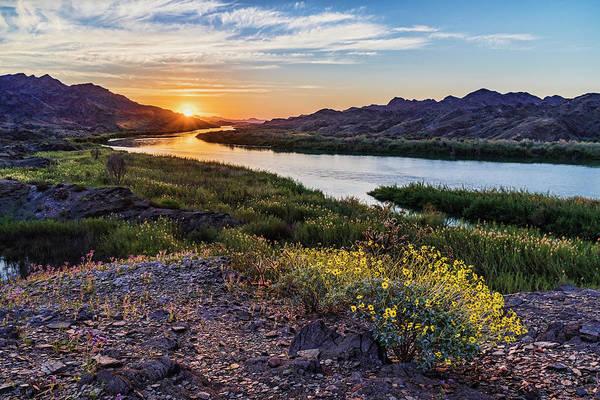 Lower Colorado River Spring Sunrise-Horizontal by Dale Balmer