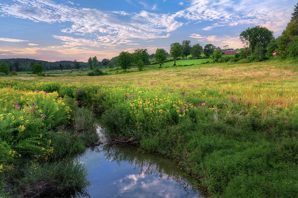 Sundown Reflection by Bill Wakeley
