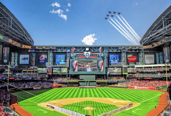 Chase Field Arizona Diamondbacks Baseball Ballpark Stadium by Christopher Arndt
