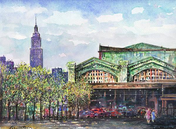 Hoboken Train Station by Franco Puliti